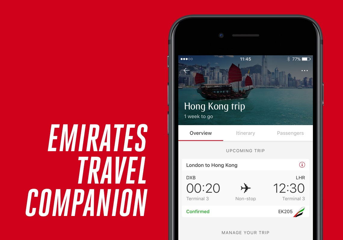 Emirates Travel Companion