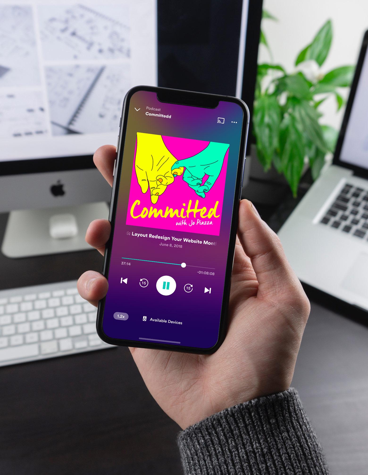A fresh new look for Entercom's Radio.com mobile apps